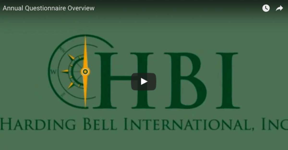 HBI Income & Expense Spreadsheet and Questionnaire Video Tutorials