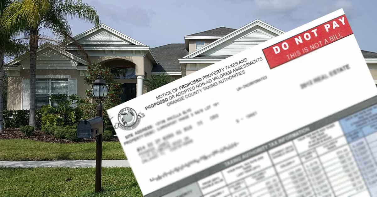 Florida County Trim Notice