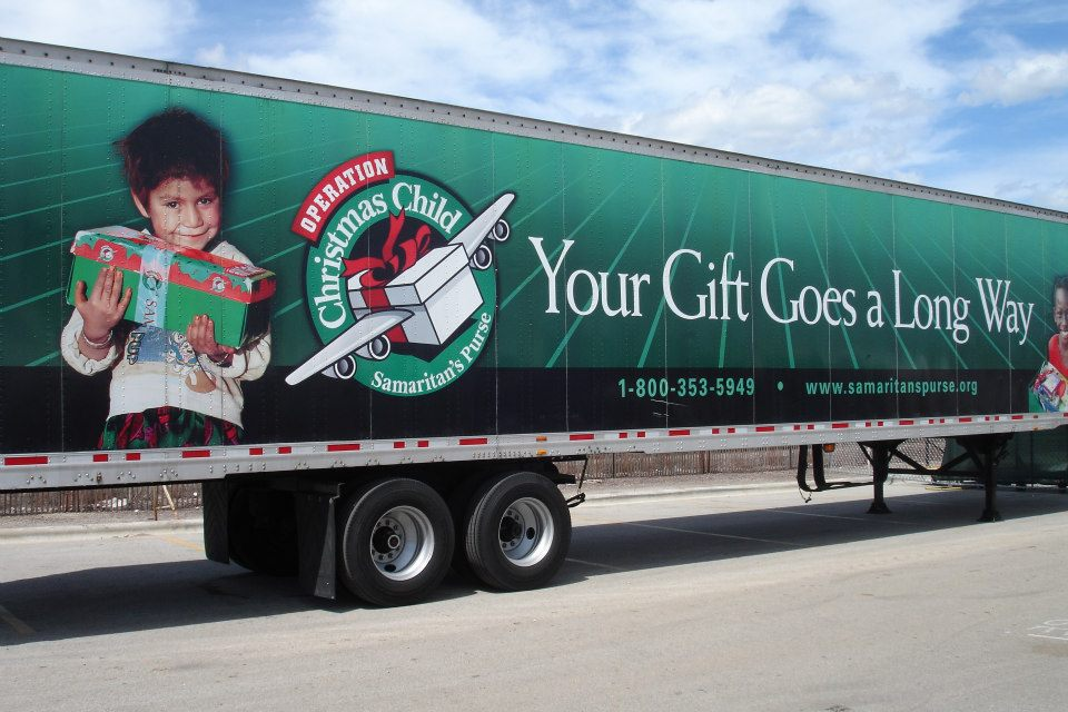 Supporting Operation Christmas Child