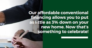 Own a home with as little as 3% down