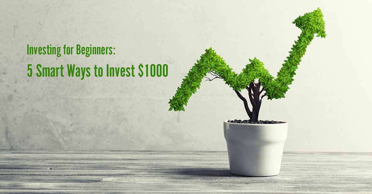 Investing for Beginners: 5 Smart Ways to Invest $1000